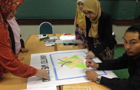 At International Islamic University Malaysia. 10