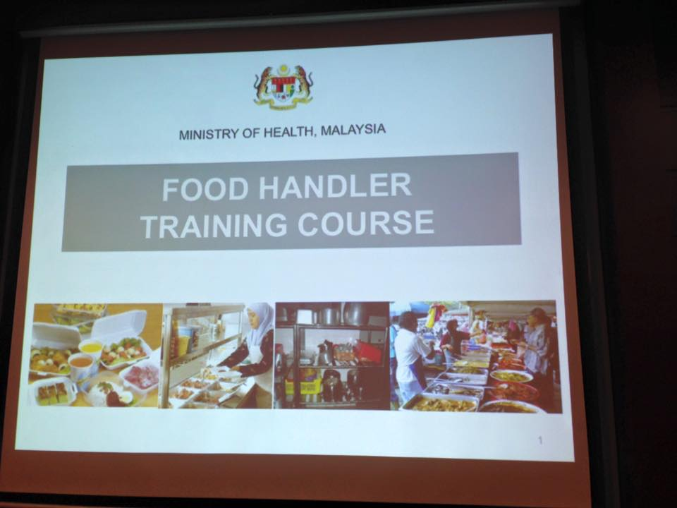 Food Handler Training September 2015 1